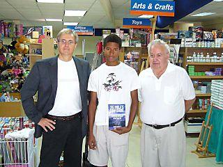 Van Dorp book signing